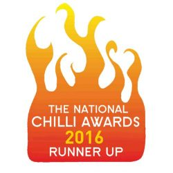 National Chilli Awards Runner Up 2016