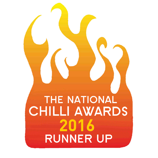 National Chilli Awards 2016 Runner Up