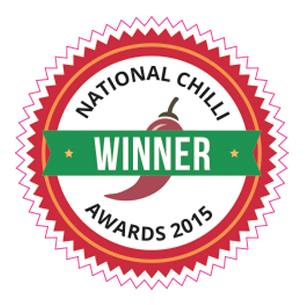 National Chilli Awards 2015 Winner
