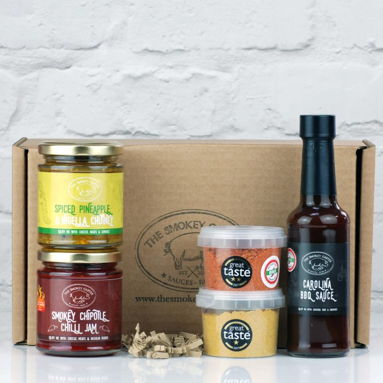Award Winners Sauce And Spice Box Gift Set