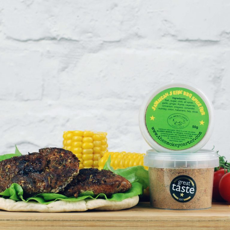 Jamaican Jerk BBQ Rub on Chicken