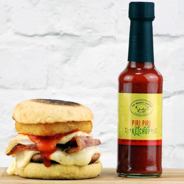 Piri Piri Ketchup with Breakfast Muffin