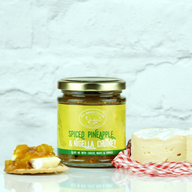 Spiced Pineapple & Nigella Chutney