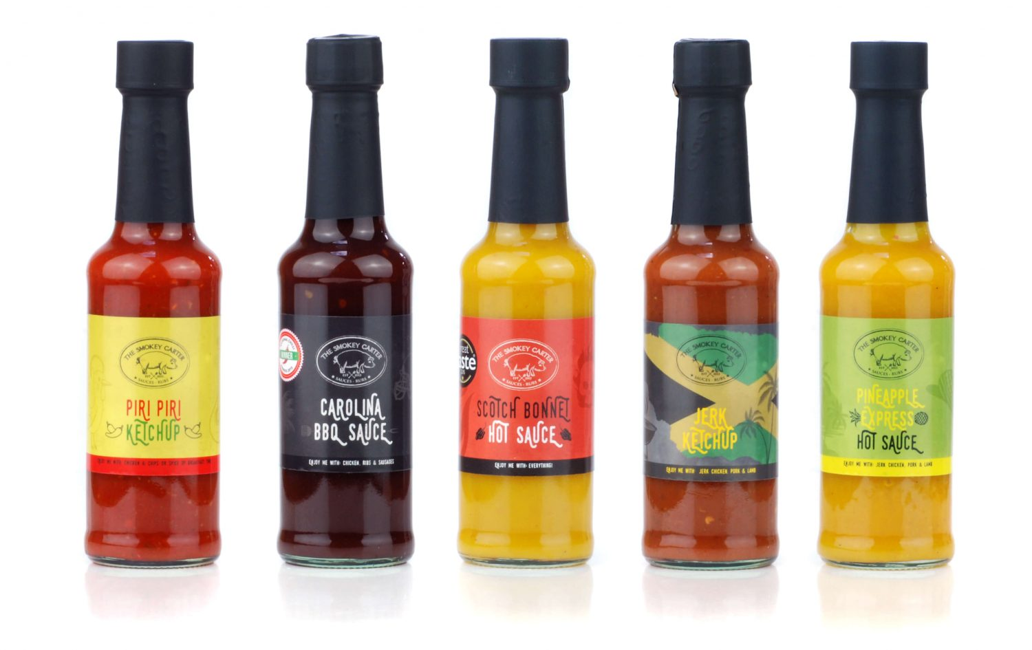 Range of Bottled Sauces