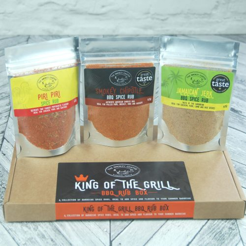 King of the grill BBQ Rub Box