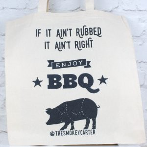 The Smokey Carter tote bag