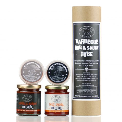 Barbecue Rub and Sauce Tube