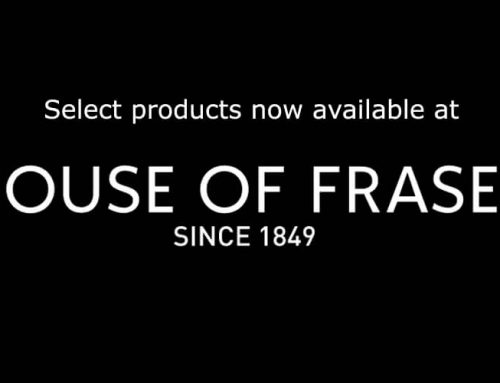 Now available at House of Fraser