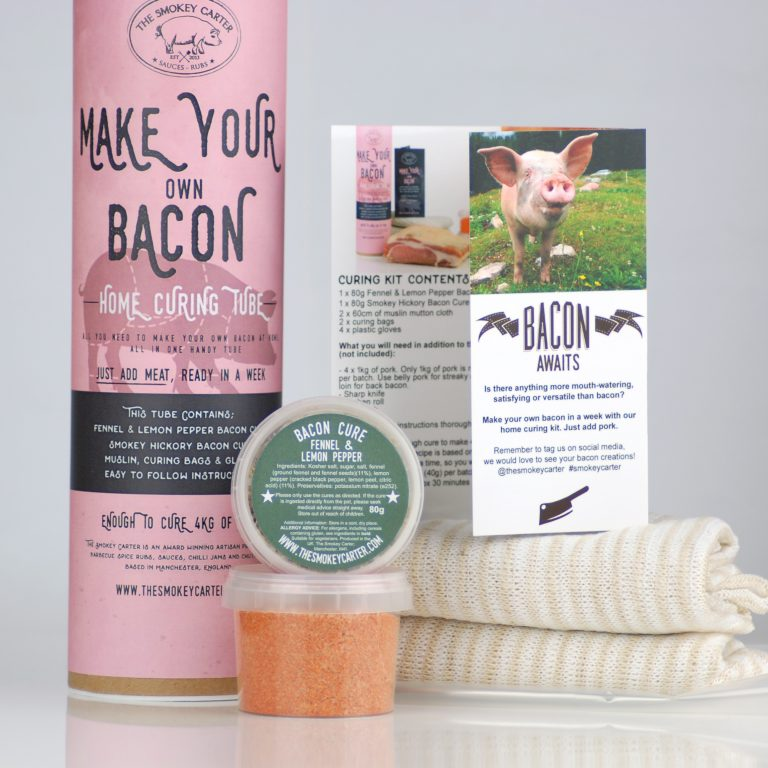 Make Your Own Bacon with bacon Hone Curing Kit
