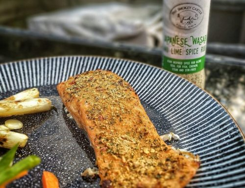 Guest Recipe – Planked Wasabi & Lime Salmon